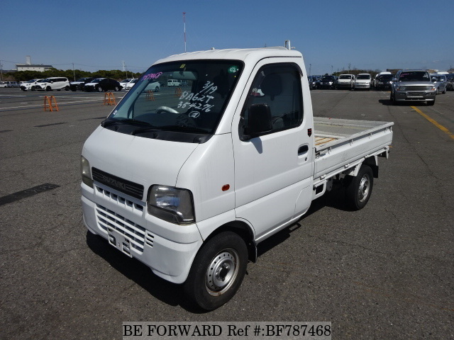 A used 2002 Suzuki Carry Truck from online used car exporter BE FORWARD.