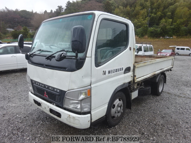 A used 2003 Mitsubishi Canter from online used car exporter BE FORWARD.