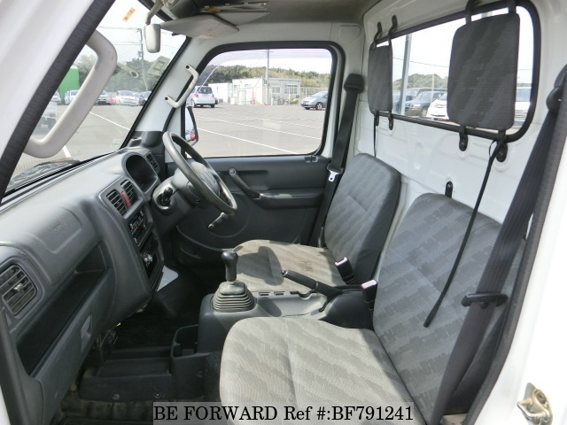 The interior of a used 2004 Suzuki Carry Truck from online used car exporter BE FORWARD.