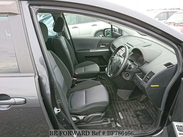 The interior of a used 2005 Mazda Premacy from online used car exporter BE FORWARD.