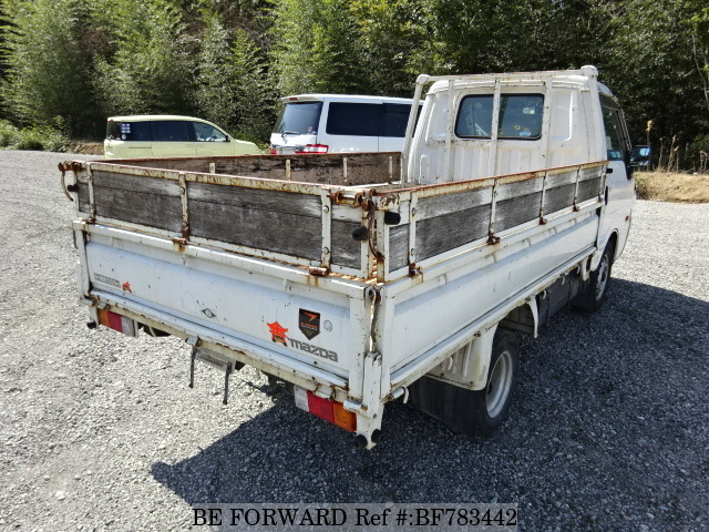 The rear of a used 2006 Mazda Bongo Truck from online used car exporter BE FORWARD.