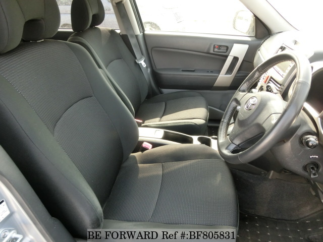 The interior of a used 2006 Toyota Rush from online Japanese used car exporter BE FORWARD.