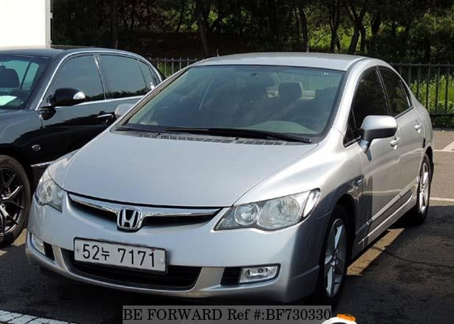 A used 2007 Honda Civic from online used car exporter BE FORWARD.