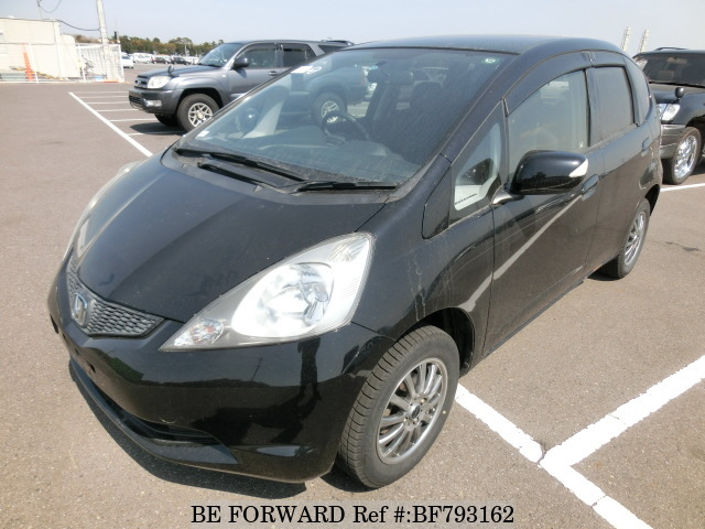 A used 2007 Honda Fit from online used car exporter BE FORWARD.
