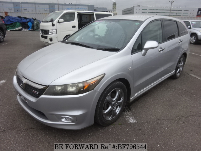 A used 2007 Honda Stream from online used car exporter BE FORWARD.