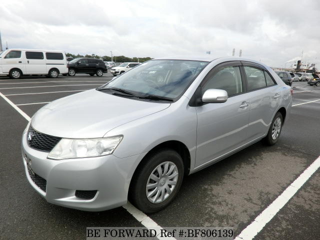 A used 2007 Toyota Allion from online used Japanese cars exporter BE FORWARD.