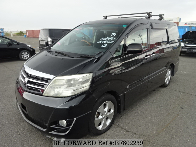 A used 2007 Toyota Alphard from online used car exporter BE FORWARD.