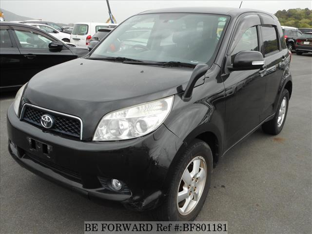 A used 2007 Toyota Rush from online used car exporter BE FORWARD.