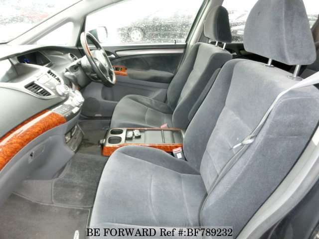 The interior of a used 2008 Honda Odyssey from online used car exporter BE FORWARD.