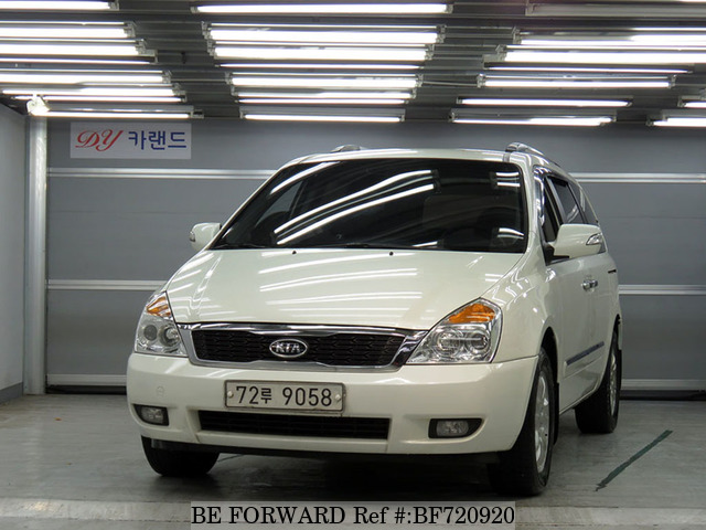 A used 2010 Kia Carnival from online used car exporter BE FORWARD.