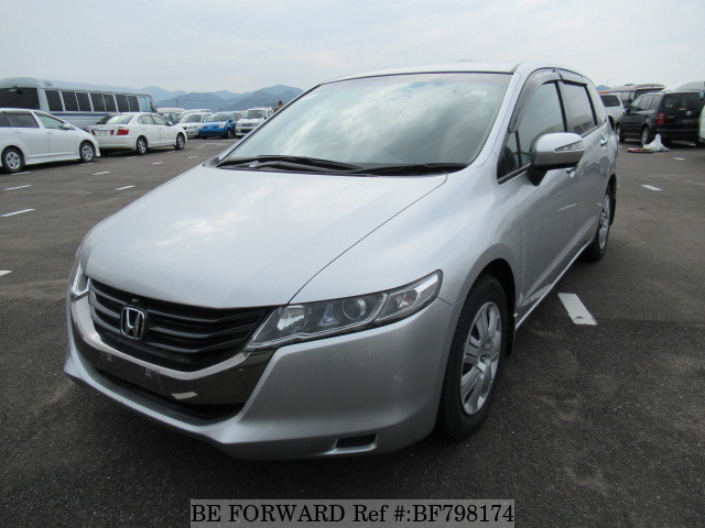 A used 2011 Honda Odyssey from online used car exporter BE FORWARD.