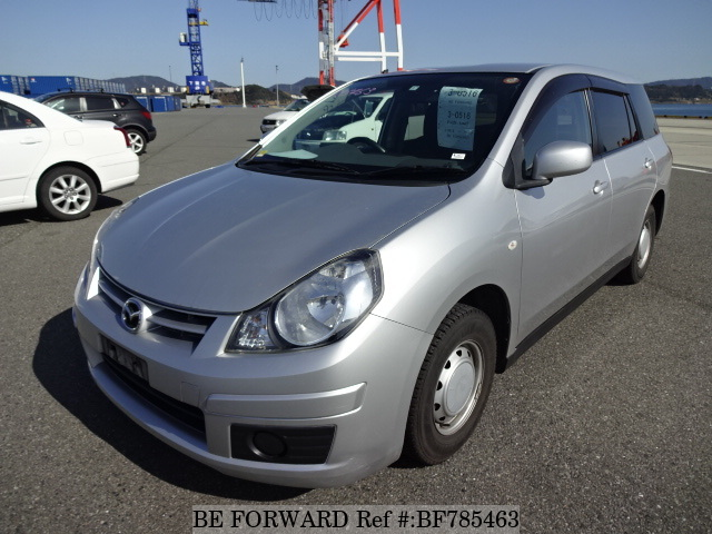 A used 2011 Mazda Familia Van from online used car exporter BE FORWARD.