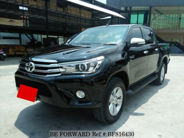 A used 2016 Toyota Hilux from online used Japanese car exporter BE FORWARD.
