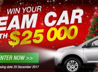 BE FORWARD Christmas Campaign 2017: Car Giveaway Worth $25,000 & $1 Sale