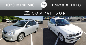 Toyota Premio vs. BMW 3 Series