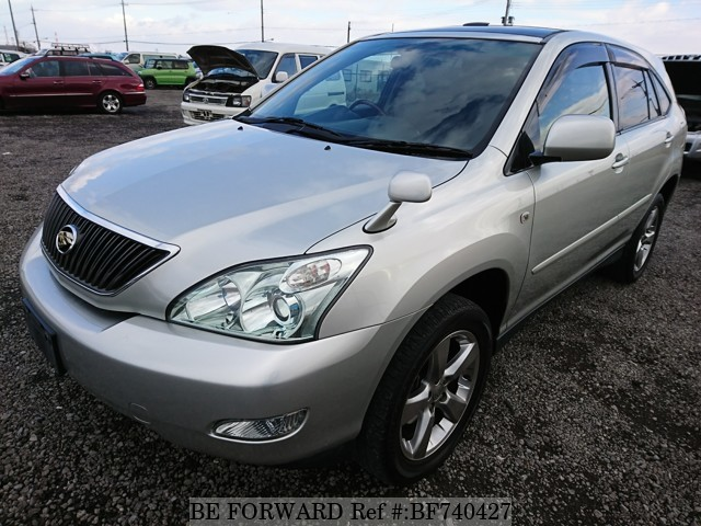 A used 2003 Toyota Harrier from used car dealer BE FORWARD.