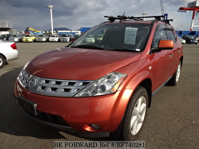 A used 2004 Nissan Murano from used car dealer BE FORWARD.