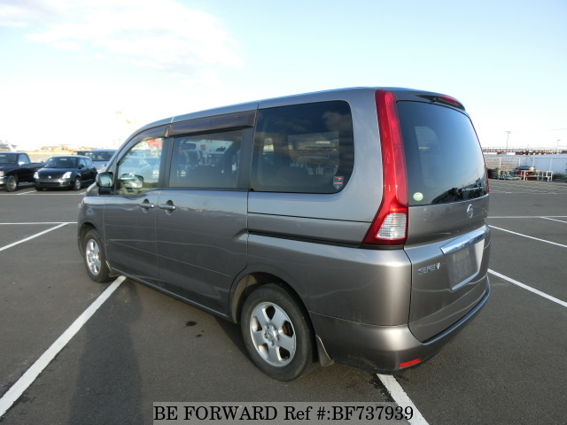 Rear of used 2006 Nissan Serena from used car dealer BE FORWARD.