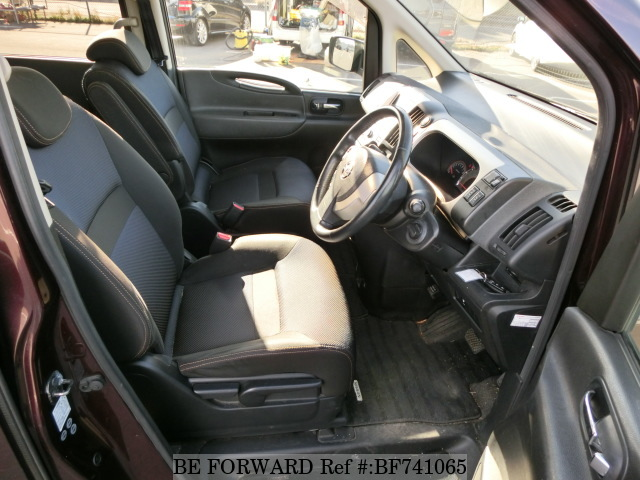 Interior of a used 2007 Nissan Serena from used car dealer BE FORWARD.