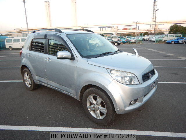 A used 2007 Toyota Rush from used car dealer BE FORWARD.