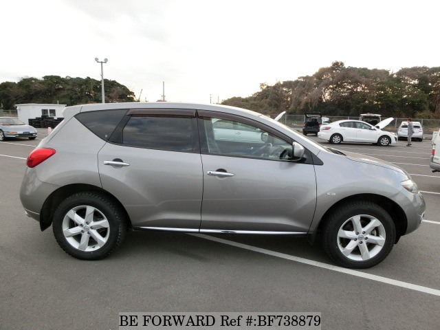 Side view of a used 2008 Nissan Murano from used car dealer BE FORWARD.