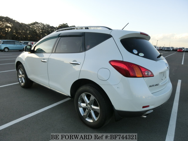 The rear of a used 2010 Nissan Murano from online car dealer BE FORWARD.