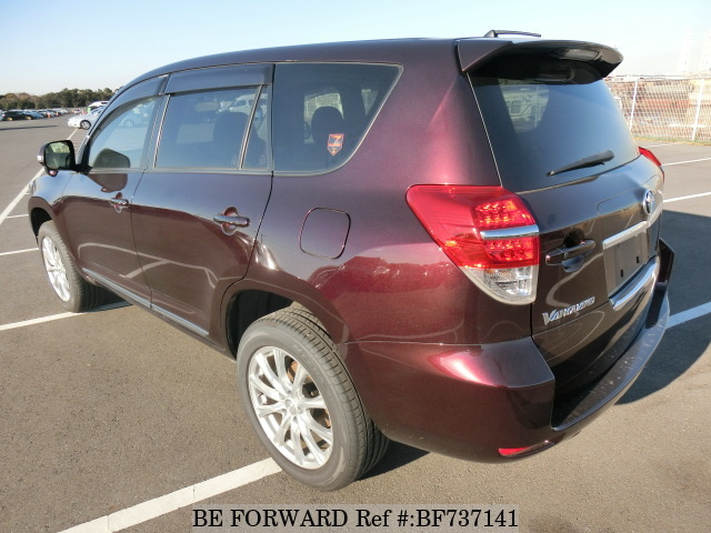 The rear of a used 2012 Toyota Vanguard from used car dealer BE FORWARD.