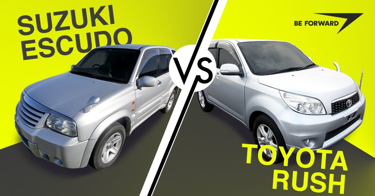 Suzuki Vitara/Escudo vs Toyota Rush – Battle of the SUVs