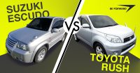 Suzuki Escudo/Vitara vs Toyota Rush – Battle of the SUVs