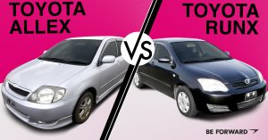 Toyota Allex vs. RunX Comparison - BE FORWARD