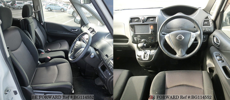 used nissan serena interior features