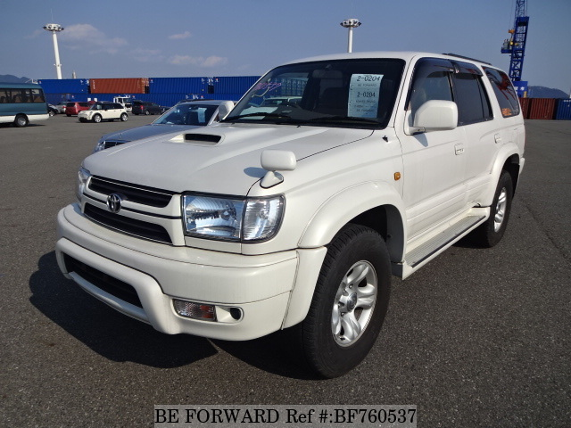 A used 2002 Toyota Hilux Surf from online used Japanese car exporter BE FORWARD.