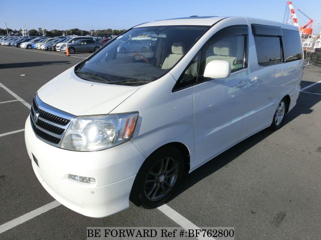 A used 2003 Toyota Alphard from BE FORWARD