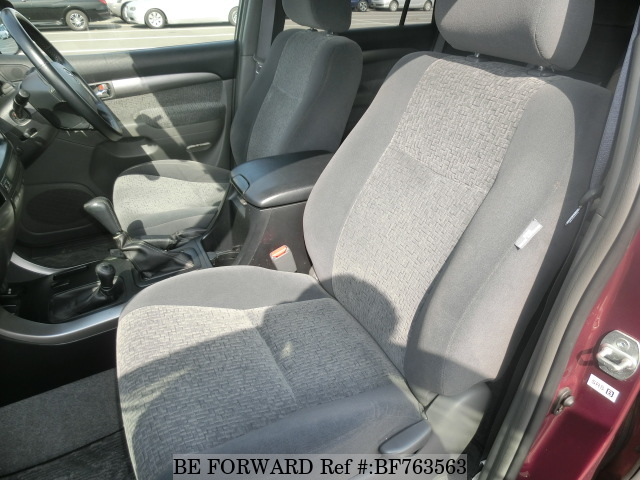 The interior of a used 2003 Toyota Land Cruiser Prado from online Japanese used cars exporter BE FORWARD.