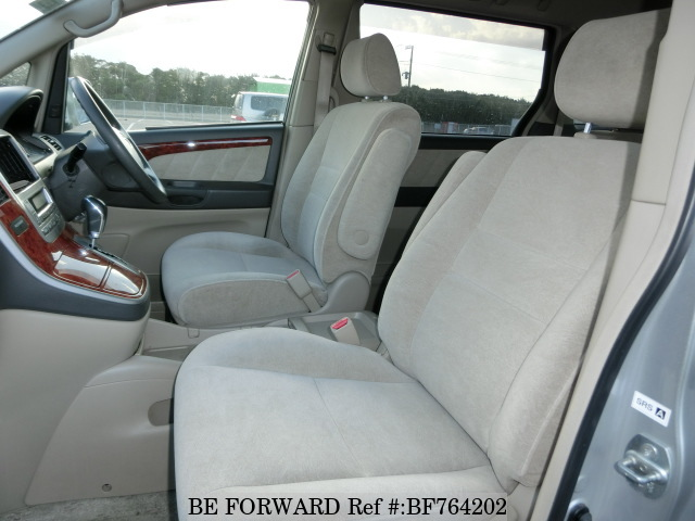 Interior of a used 2004 Toyota Alphard from BE FORWARD