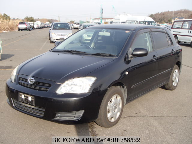 A used 2005 Toyota Corolla RunX from online used car exporter BE FORWARD.