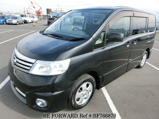 A used 2007 Nissan Serena from BE FORWARD.