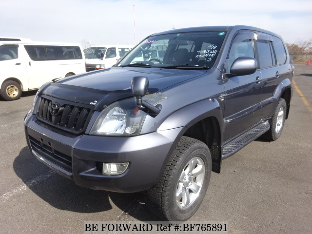 A used 2007 Toyota Land Cruiser Prado from online used car exporter BE FORWARD.
