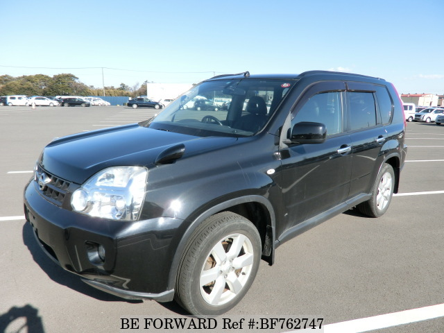 A used 2008 Nissan X-Trail from online Japanese used car exporter BE FORWARD.