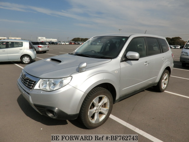 A used 2009 Subaru Forester from Japanese cars exporter BE FORWARD.
