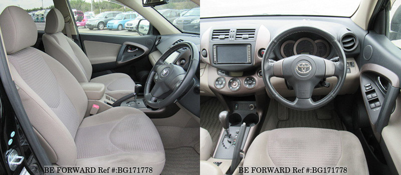 toyota vanguard interior vs kluger