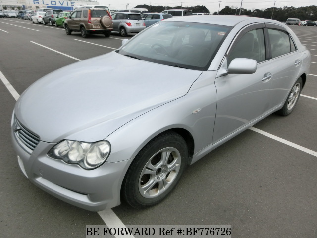 A used 2006 Toyota Mark X from online used car exporter BE FORWARD.