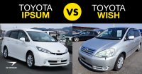 Toyota Ipsum vs. Wish: A Used MPV Showdown