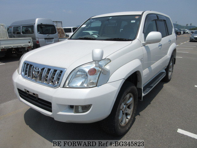 toyota land cruiser prado off-road suv