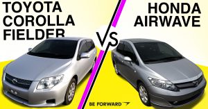 Toyota Corolla Fielder vs. Honda Airwave Car Comparison - BE FORWARD