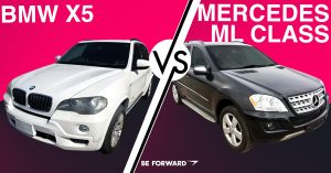 BMW X5 vs. Mercedes-Benz ML Class Car Comparison - BE FORWARD