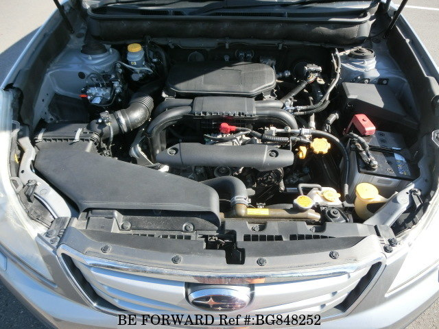 2011 SUBARU OUTBACK engine