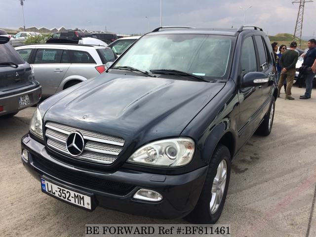 A used 2005 Mercedes-Benz ML Class from online used Japanese cars exporter BE FORWARD.
