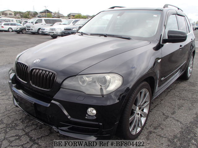 A used 2007 BMW X5 from online used Japanese cars exporter BE FORWARD.