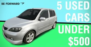 5 Used Japanese Cars Under $500